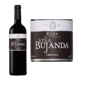 Vina Bujanda label